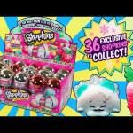 New SHOPKINS Bauble Christmas Ornament Metallic Rare Surprise Egg Toys