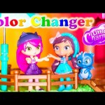 LITTLE CHARMERS Nickelodeon  Little Charmers Paint Charmhouse Color Changer Video Parody