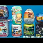 Surprise Toys Collection Teenage Mutant Ninja Turtles Disney Frozen Zootopia Surprise Eggs Num Noms