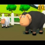 Baa Baa Black Sheep | 3D Nursery Rhyme