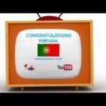 Pocoyo football: EURO 2016 – Congratulations, PORTUGAL!