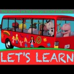 "Let's Learn ""Wheels On The Bus""! With LittleBabyBum!"