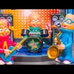 ALVIN AND THE CHIPMUNKS Nickelodeon Chipmunks Battle of the Bands Chipmunks Video Parody