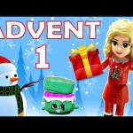 Toy Advent Calendar Day 1 – – Shopkins LEGO Friends Play Doh Minions My Little Pony Disney Princess