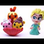 How Elsa Makes Play-Doh Num Noms —– Disney Frozen Stop Motion Animation