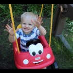 So Cute! Little Tikes Cozy Coupe Swing