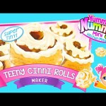 Yummy Nummies Teeny Cinni Rolls Maker – Kids Cooking Magic Kitchen Kit by DCTC