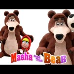 Play Doh Masha and The Bear Stop Motion Animación Playdough Masha i Medved