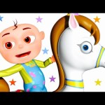 Five Little Babies Riding A Horse | Five Little Babies Collection | Zool Babies Fun Songs
