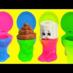 Toilet Putty with Shopkins Surprises