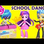 My Little Pony School Dance Minis Canterlot High Playset with Shopkins Happy Places