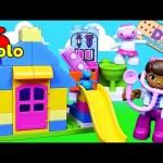 Doc McStuffins Lego Duplo 10606 Backyard Clinic Lambie & Stuffy Check Up & Slide Park