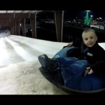 Extreme Snow Tubing – WITH NO SNOW!