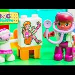 DOC MCSTUFFINS Disney Lego Duplo Doc McStuffins with Rosie the Ambulance Toys Video