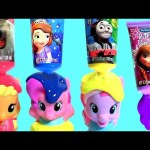Learn COLORS My Little Pony Bathtime Bath Paint Sofia the First Disney Frozen Pinkie Pie toys 。◕‿◕。