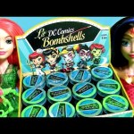 DC Comics Bombshells Vinylmation Dolls Collection Batgirl Wonder Woman Supergirl Harley Quinn