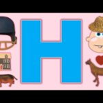 Learn-a-Word Letter of the Week! Week in Review!  The Letter H!