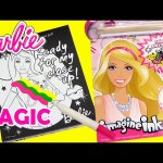 Barbie Imagine Ink with Magic Pen Booklet and Surprises