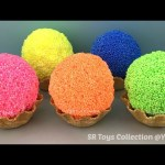 Foam Clay Ice Cream Waffle Surprise Toys Frozen TMNT Finding Dory Star Wars Marvel Avengers Eggs