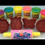 Play Doh Sparkle Compound Collection with Flowers and Butterfly Molds Fun & Creative for Kids