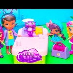 LITTLE CHARMERS Nickelodeon Little Charmers are Sick + Doc McStuffins Little Charmers Parody