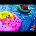 Indoor playground fun for kids. Video compilation from KIDS TOYS CHANNEL