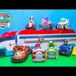 PAW PATROL Nickelodeon Vehicles Numbers Paw Patroller Video Toys Review