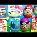 TOYS SURPRISES Shopkins Egg PJ MASKS NUM NOMS 2 Minnie Mouse Cash Register Mashems Fashems
