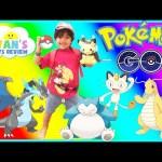 POKEMON GO IN REAL LIFE Catching Rare Pokemon Pikachu Charizard Dragonite Toys Hatch Egg PokeStop