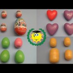 Which One is Different! Fun Surprise Egg Learning Game With Kinder Surprise!