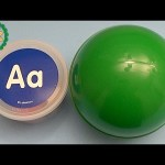Kinder Surprise Egg Learn-A-Letter!  Spelling Words that Start with the Letter A