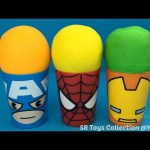 Captain America Spider Man Iron Man Surprise Cups Teenage Mutant Ninja Turtles Buzz Lightyear Toys