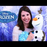NEW Frozen Ultimate Olaf with Sandra as Disney Princess Elsa Toy Review by DisneyCarToys