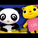A Tisket A Tasket | Nursery Rhymes | By LittleBabyBum!