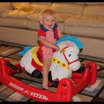 Radio Flyer Rock & Bounce Pony Horse Playtime Review