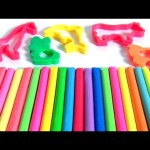 Learn COLORS Animals Play Doh Surprise Animal Activity Bucket 4 Toy Story Toys 。◕‿◕。
