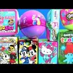 Surprise Toys Trolls Twozies Baby Unicornos Shopkins Egg Season 5 Squinkies Mickey Minnie Princesses