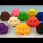 Fun Creative with Play Doh Cars and Chinese Lantern Cookie Cutters