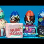 Kids Surprise Toys Num Noms Cupcake The Zelfs Kitty In My Pocket Carrier Disney Frozen Finding Dory