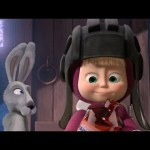Маша и Медведь (Masha and The Bear) – Лыжню! (14 Серия)