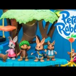 PETER RABBIT Nickelodeon Adventure Treehouse Peter Rabbit Video Toy Review