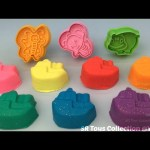 Glitter Play Dough Boats with Cutters and Peppa Pig Rolling Pin Fun Creative for My Kids