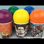 Balls Surprise Cups with Toys Hello Kitty Paw Patrol Frozen Elsa and Anna