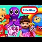 Baby Alive Dolls Play With Little Tikes Little Ocean Explorer Play Set Toy Review