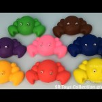 Play Doh Crabs with Mickey Mouse and Minnie Mouse Cutters Fun Creative for Kids