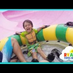 Schlitterbahn WaterPark Resorts Family Fun Amusement Waterslides for Kids Ryan ToysReview