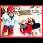 TWIN BABIES SICK get SHOT Pretend Play Dr. Spidey Check Up Superhero Doctor Spiderman Kids Video