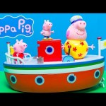 PEPPA PIG Nickelodeon Peppa Pig Holiday Boat a Peppa Pig Video Toy Review