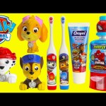 Paw Patrol Brush Teeth Surprises Shopkins Season 6