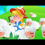 Little Bo Peep Has Lost Her Sheep | Nursery Rhymes